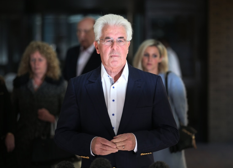 Image: Jury Reaches Verdict In The Trial Of Publicist Max Clifford