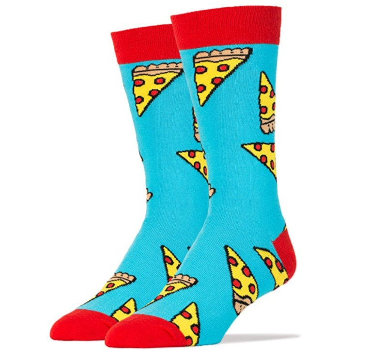 Ohhh yeah pizza socks