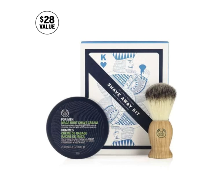 Body Shop Shave kit