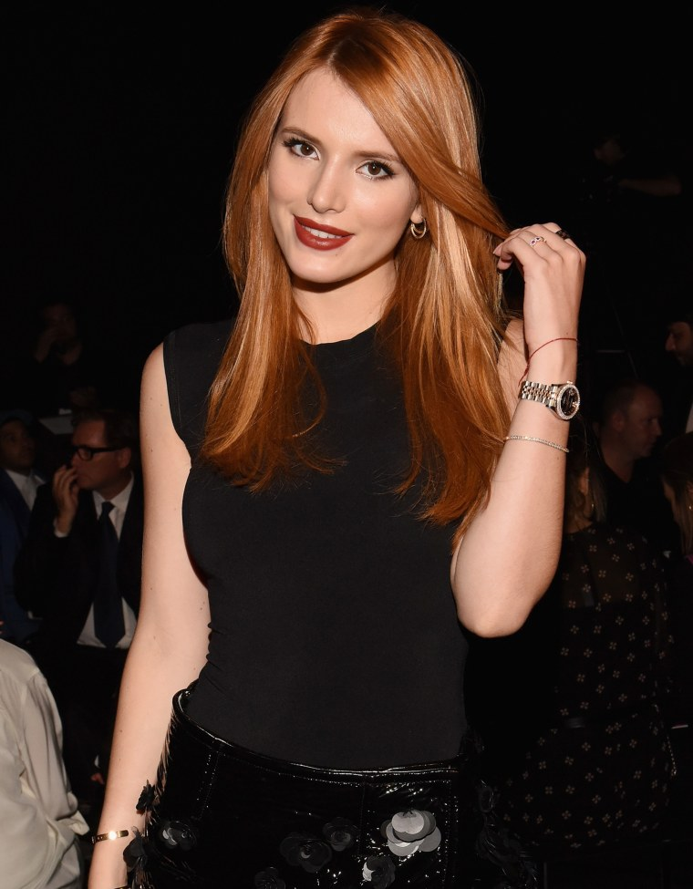 Bella Thorne hair photo