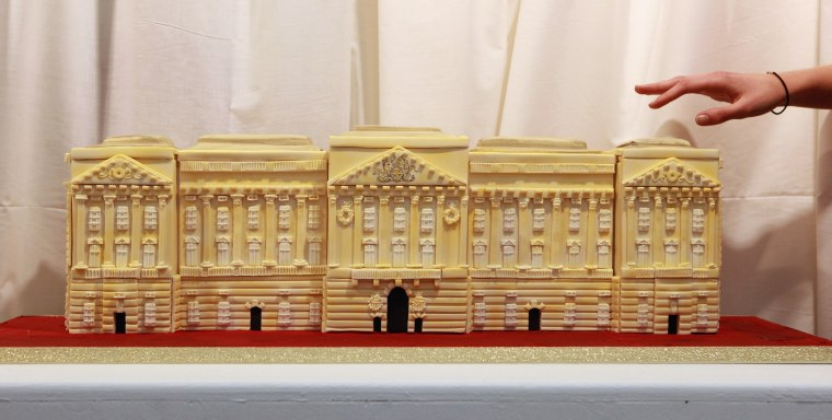 Edible Exhibition Of Cakes From Previous Royal Weddings