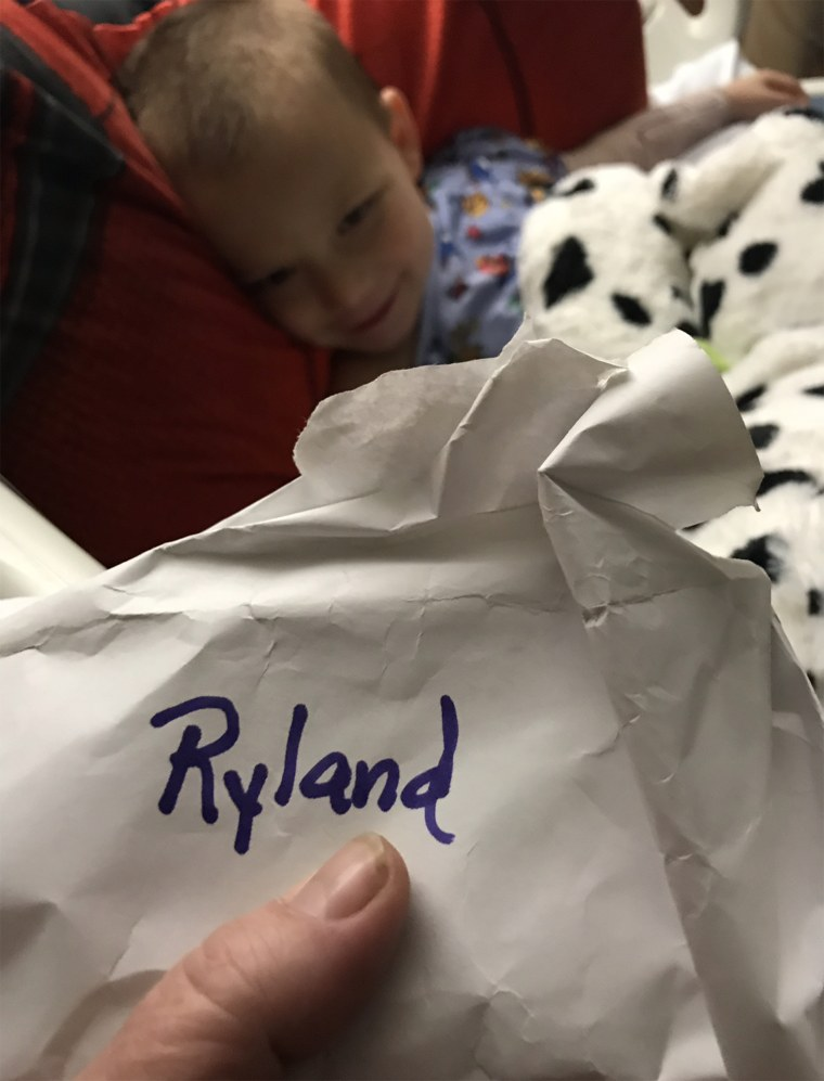 Ryland Ward survived church shooting in Texas