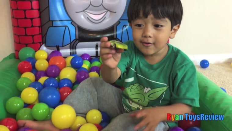 Ryan's exuberant toy reviews have garnered more than 10 million followers on YouTube.