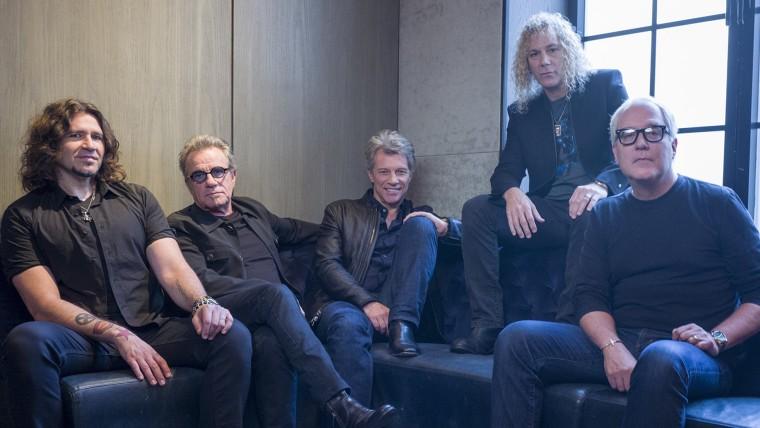 Tico Torres, Jon Bon Jovi, David Bryan, Phil X, Hugh McDonald