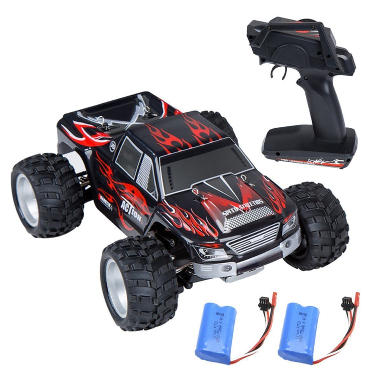 RC car in red