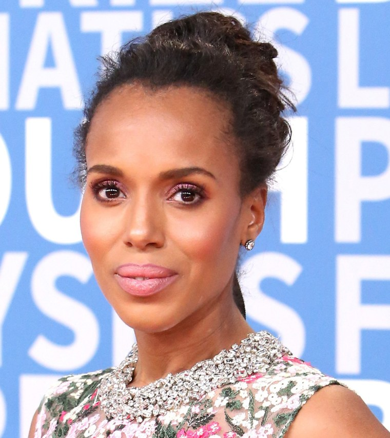 Kerry Washington updo hairstyle photo