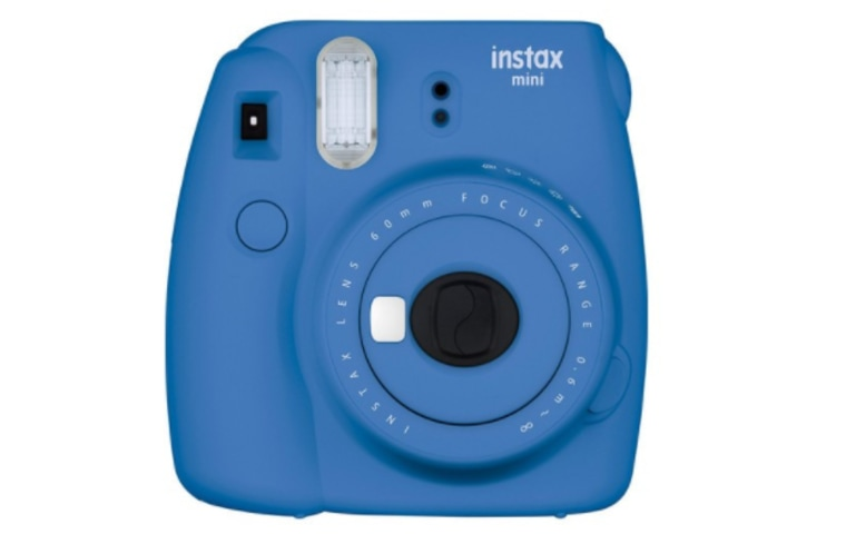 Instant Camera in blue