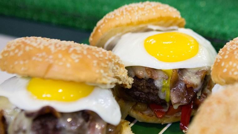 Matt Abdoo's Mile High Bronco Brunch Burgers