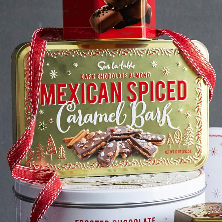 Mexican Spiced Caramel Bark