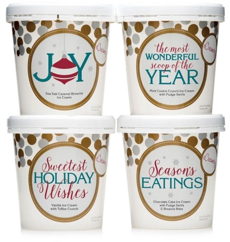 eCreamery Holiday Ice Cream Collection