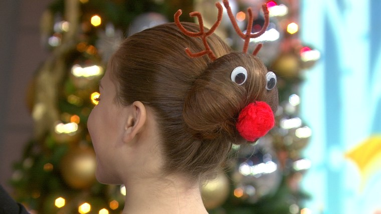 Holiday Hair Segment on TODAY December 15th, 2017