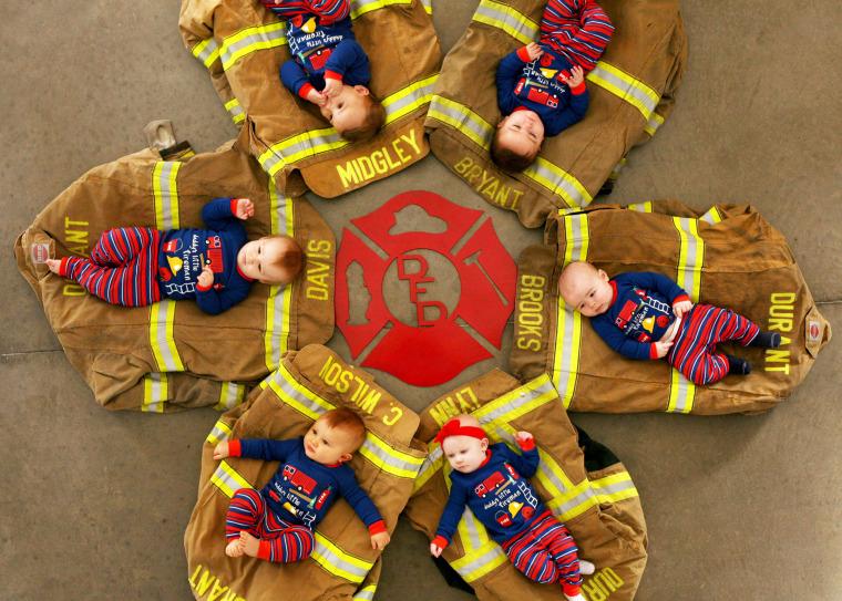 Durant Fire Department Babies