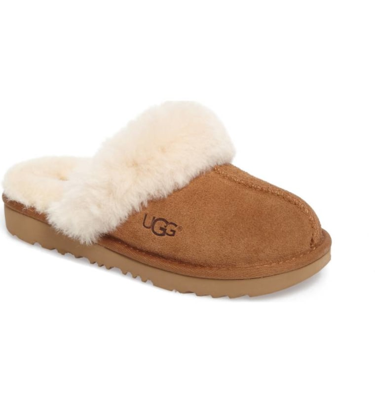 Ugg Cozy II kids scuff slippers