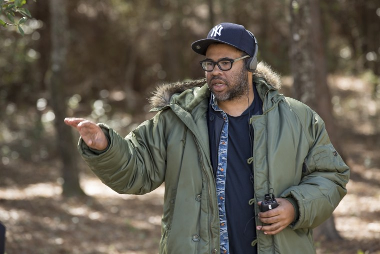 "Image: Jordan Peele makes his directorial debut with the psychological thriller ""Get Out"""