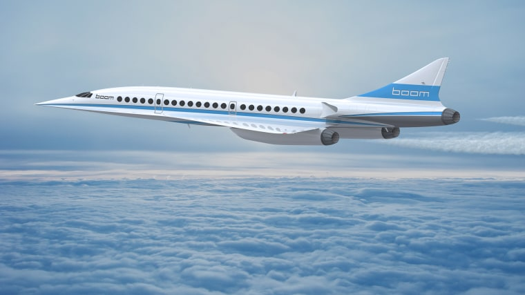 Image: Boom's supersonic jet