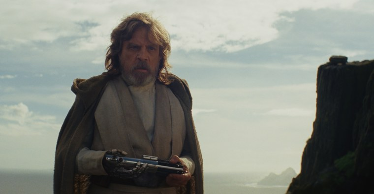 "Image: Luke Skywalker in ""Star Wars: The Last Jedi"""
