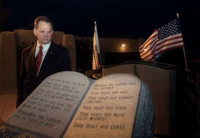 Image: Roy Moore Ten Commandments
