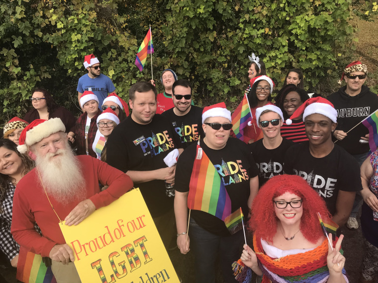 Image: Alabama LGBT Christmas Parade
