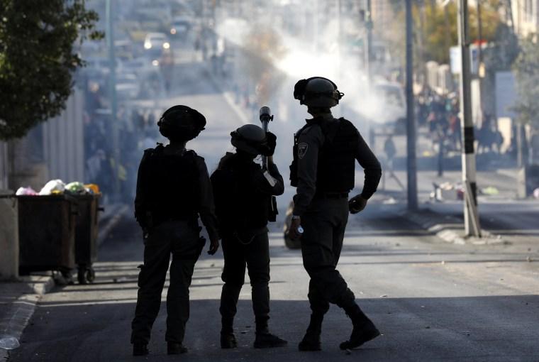 Image: Clashes in Bethlehem
