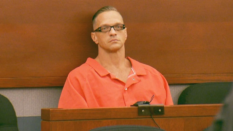 Image: Scott Dozier appears in court on Sept. 11, 2017, at the Regional Justice Center in Las Vegas.