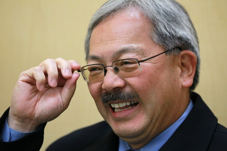Image: FILE PHOTO - Ed Lee, Mayor of San Francisco passes away aged 65