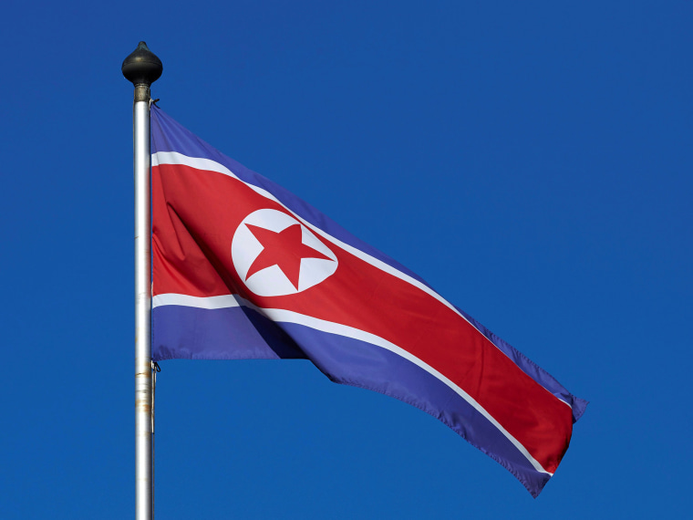 Image: North Korean flag