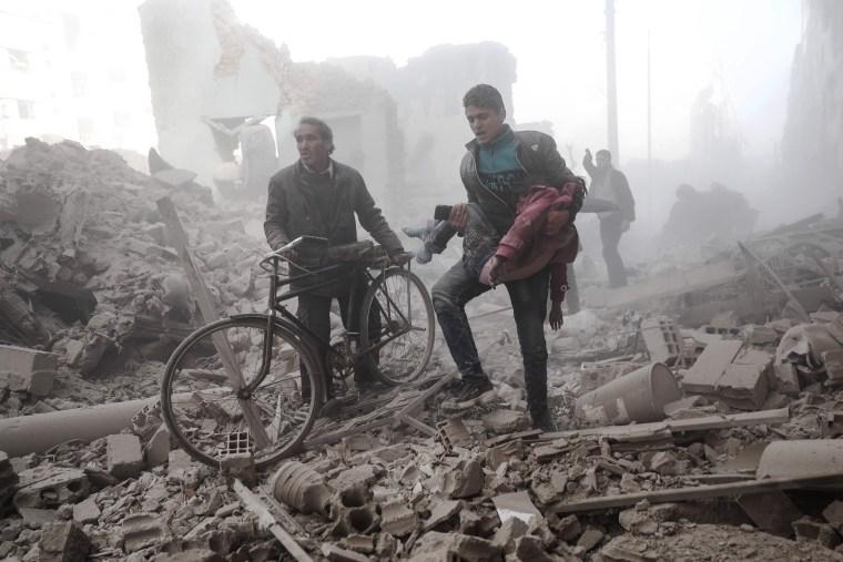 Image: Syrian Airstrikes
