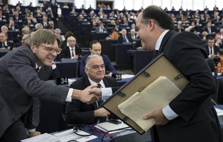 Image: Venezuelan opposition wins Sakharov Prize