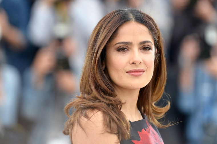 Image: Actress Salma Hayek attends the 68th annual Cannes Film Festival