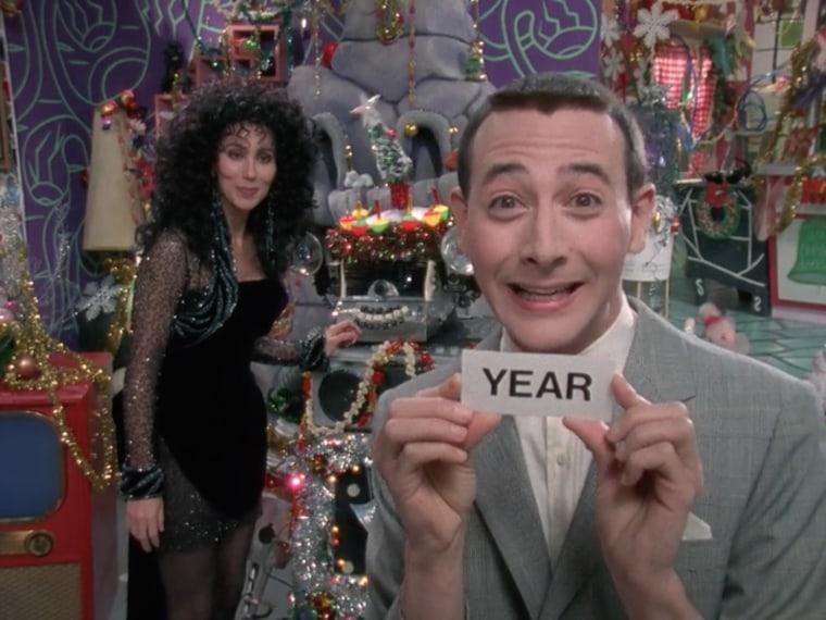 Image: Christmas at Pee Wee's Playhouse