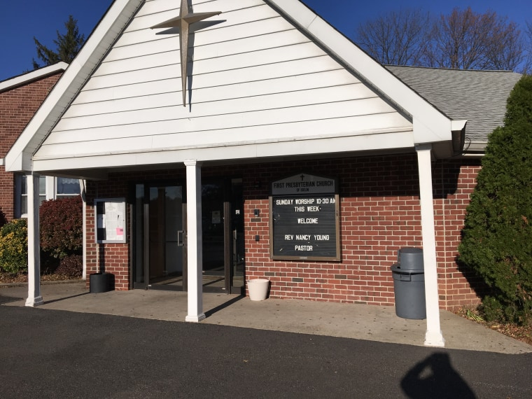 The church in New Jersey where South Asian Alcoholics Anonymous meetings take place.