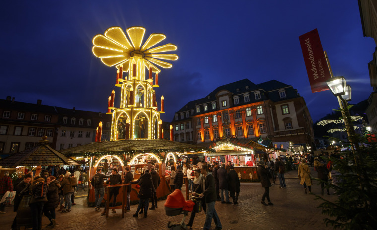Image: Christmas Market in Heidelberg