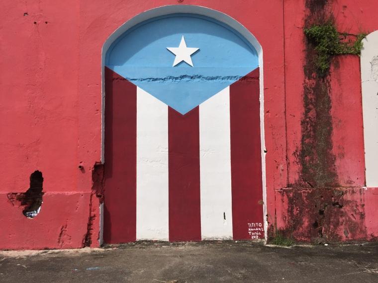 A building in San Juan, Puerto Rico.
