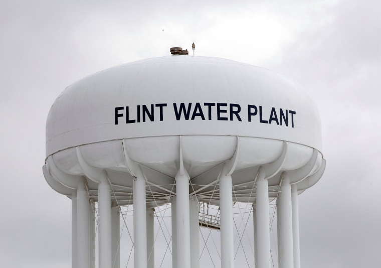 Image: Michigan National Guard To Help Flint With Lead Contamination In Water Supply