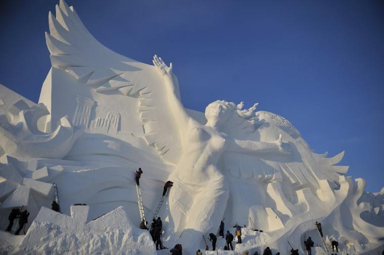 Image: 30th Harbin Sun Island International Snow Sculpture Art Exposition