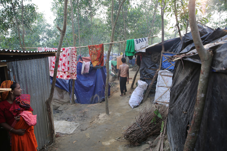 Image: Conditions of life for Rohingya refugees