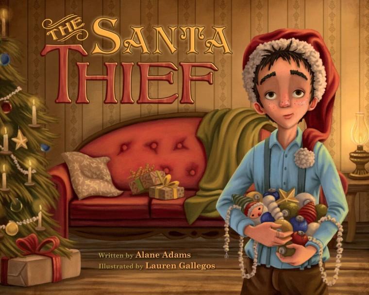 Santa Thief book by Alane Adams