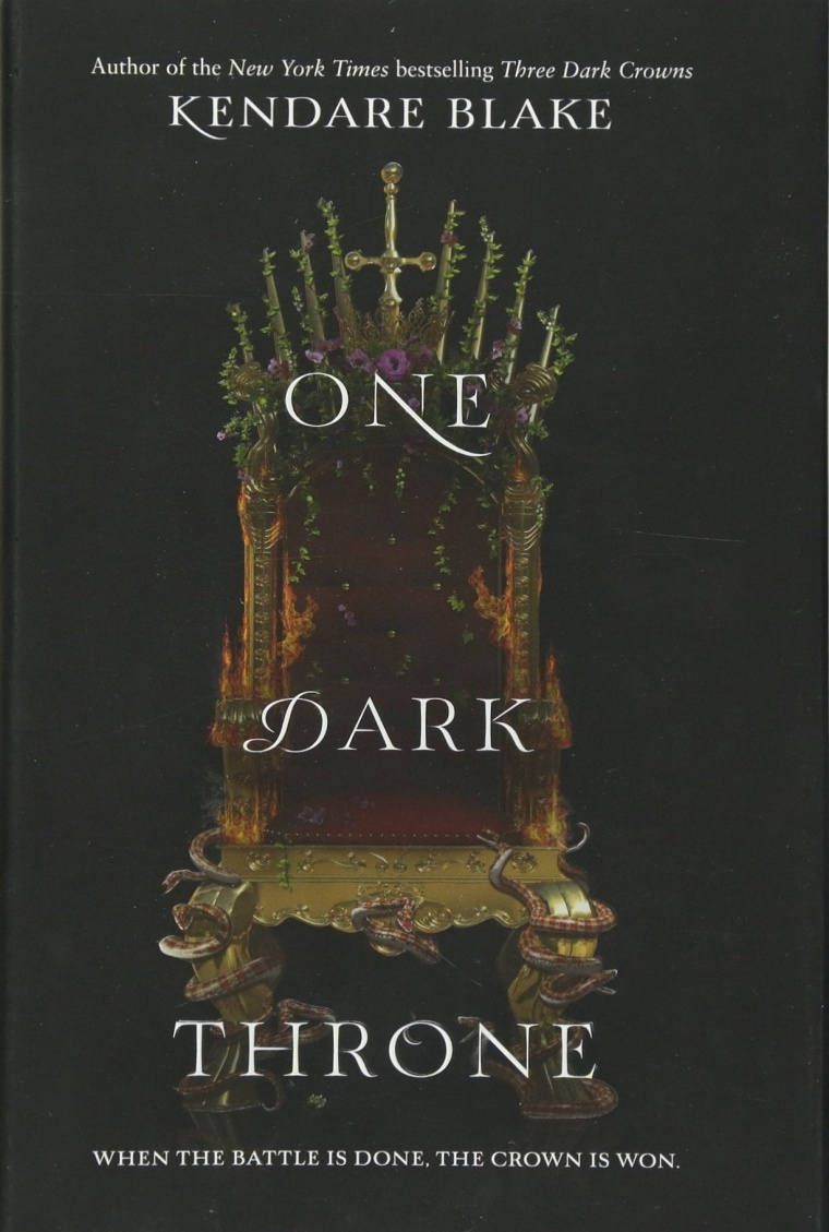 One Dark Throne Book cover