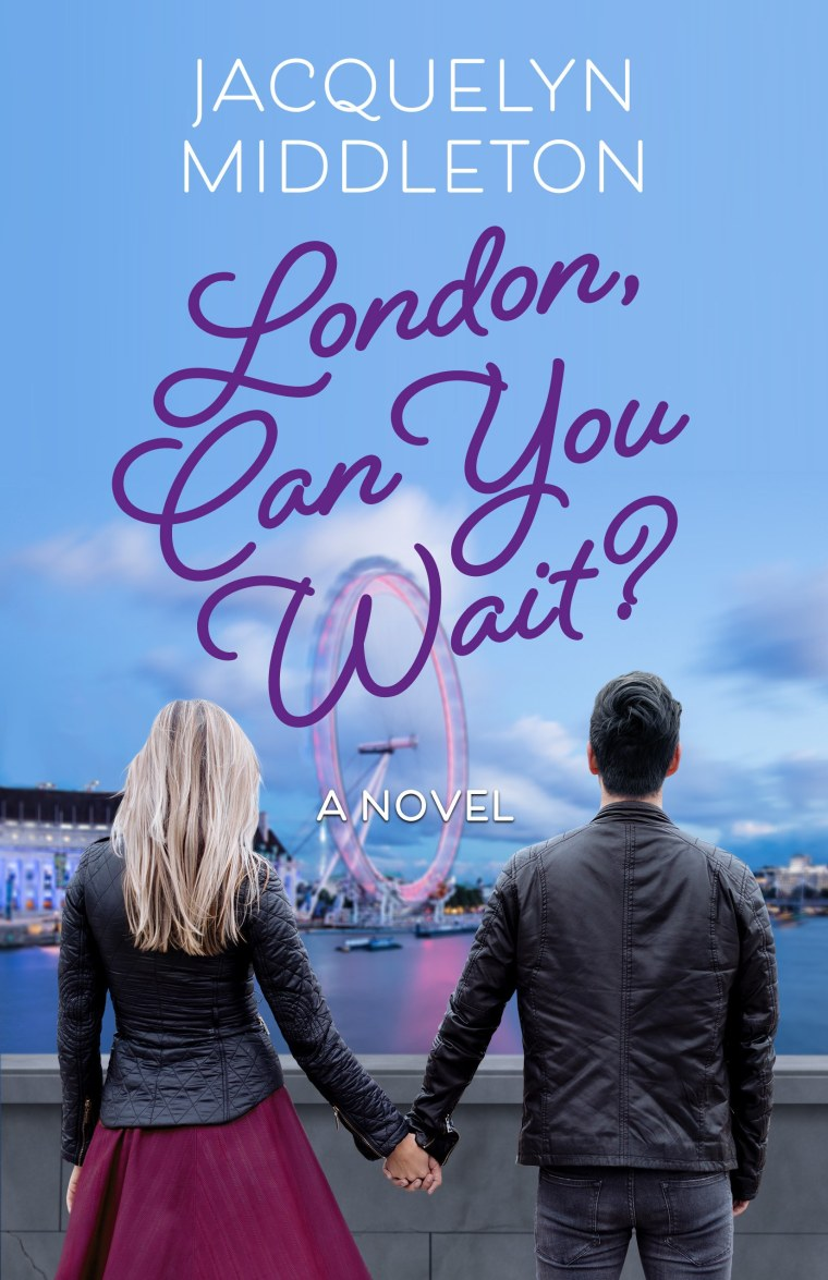 London Can you wait book cover