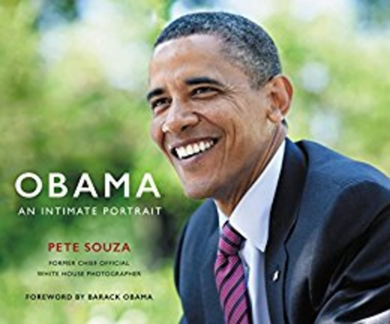 Obama an intimate portrait book cover