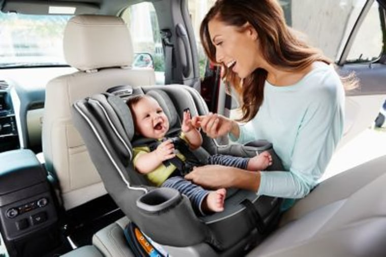 Graco Car Seat with baby