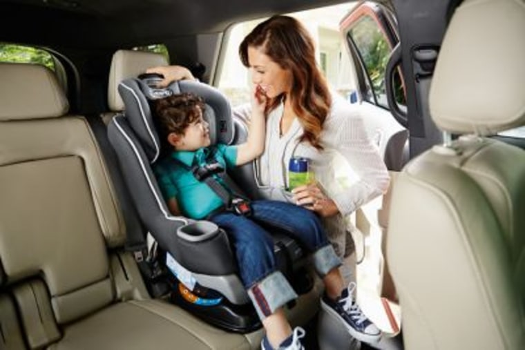 Graco mom with toddler