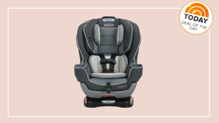 Deal of the Day December 19th, 2017 -- Extend2Fit Convertible Car Seat