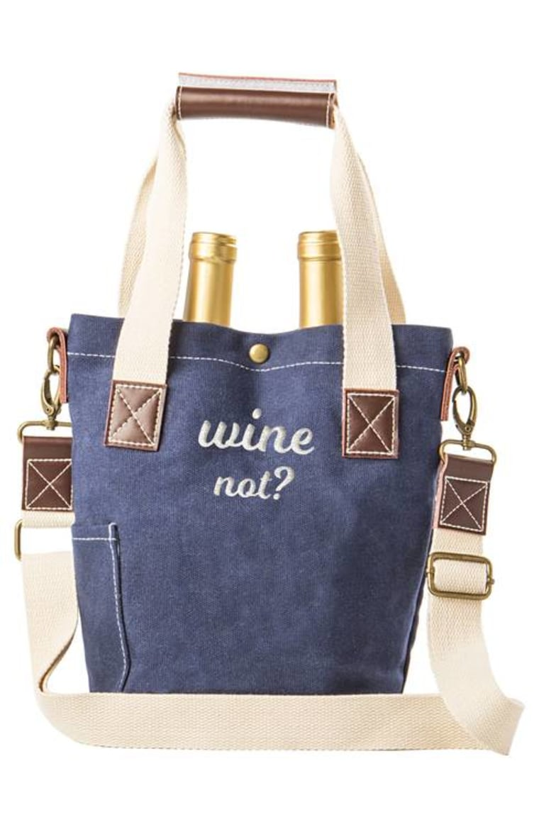 wine not tote bag