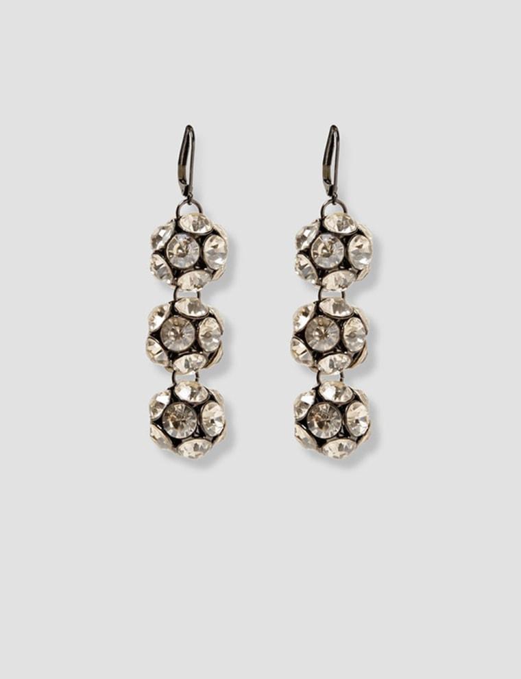 Sparkly dangle earrings