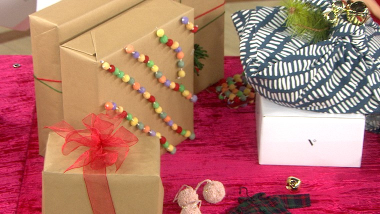 Buying the perfect presents for your loved ones is only half the battle: Now you have to wrap them! Fortunatley, Lori Bergamotto of Good Housekeeping joins TODAY with time-saving tips and tricks for wrapping just about anything. For instance: Try using fa