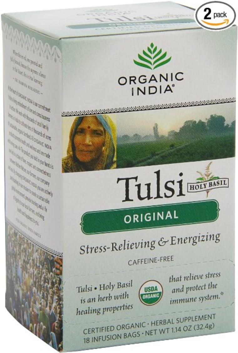 Holy Basil or Tulsi tea