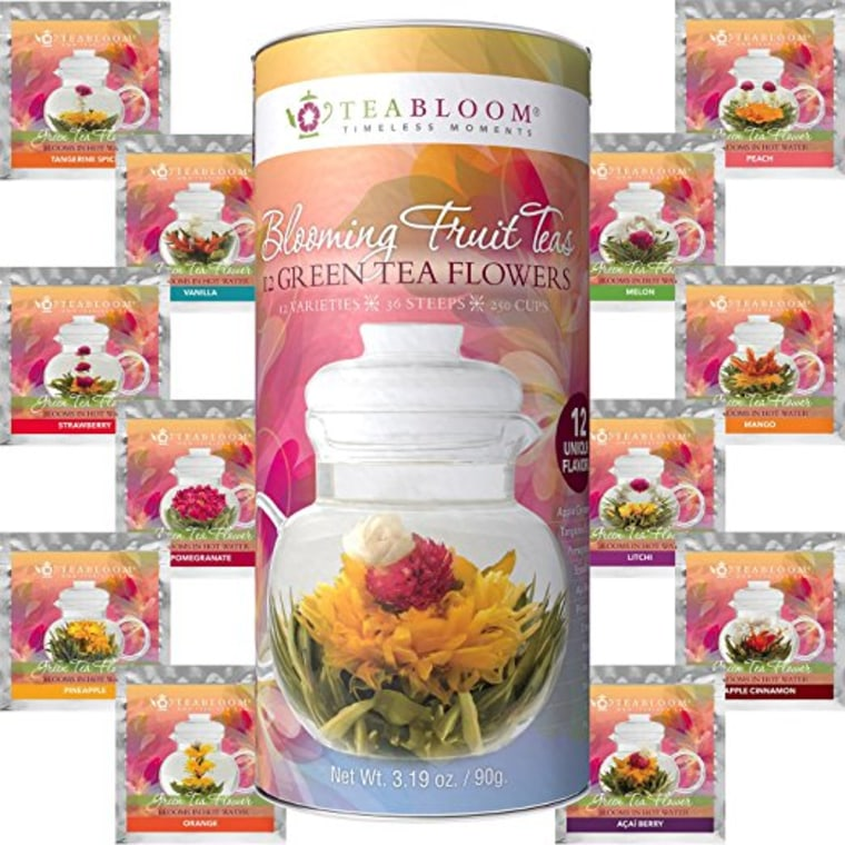 Tea bloom fruit tea variety pack