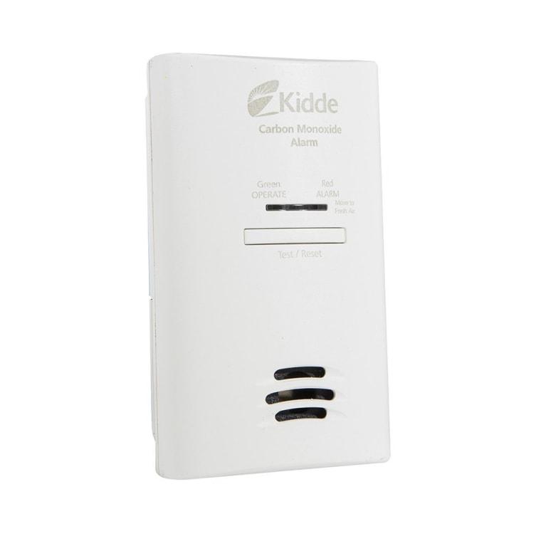 white rectangular CO detector
