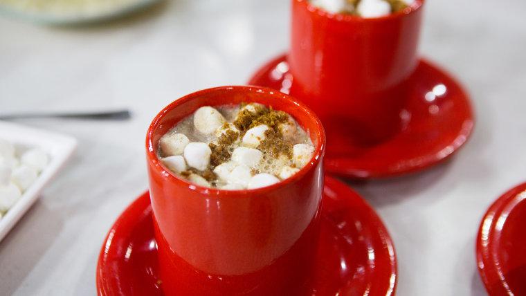 Zane Holmquist's Gingerbread Hot Chocolate